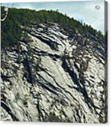 New Hampshire Ledge Acrylic Print