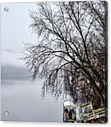 New Hope Ferry Acrylic Print
