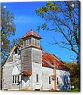 New Hope Mb Church Estill Ms Acrylic Print