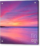 New Jersey Sunrise Acrylic Print