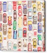 New Jersey Traffic Jam Acrylic Print