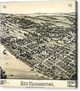 New Kensington Pennsylvania 1896 Acrylic Print
