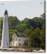 New London Harbor Lighthouse Acrylic Print