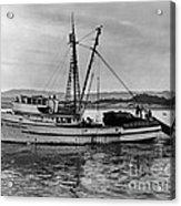 New Marretimo Purse Seiner Monterey Bay Circa 1947 Acrylic Print