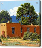 New Mexico Adobe Acrylic Print
