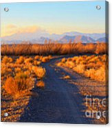 New Mexico Back Country Road Acrylic Print