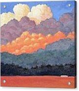 New Mexico Cloudscape  Acrylic Print