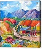 New Mexico Colors Acrylic Print