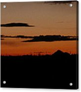 New Mexico Sunset Acrylic Print