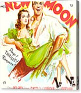 New Moon, Us Poster, Nelson Eddy Acrylic Print
