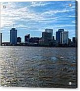 New Orleans - Skyline Of New Orleans Acrylic Print