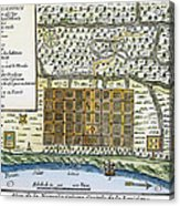 New Orleans, 1718-20 Acrylic Print