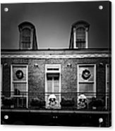 New Orleans- A Skull Paradise Acrylic Print by Christine Till
