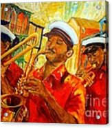 New Orleans Brass Band Acrylic Print