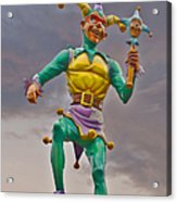 New Orleans - Canal Street Ferry Jester Acrylic Print by Christine Till