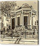 New Orleans Charm 2 Acrylic Print