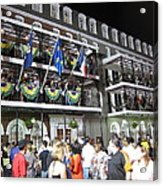 New Orleans - City At Night - 12121 Acrylic Print