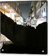 New Orleans - City At Night - 121211 Acrylic Print
