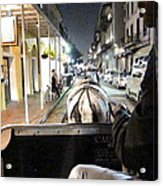 New Orleans - City At Night - 121212 Acrylic Print by DC Photographer