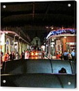 New Orleans - City At Night - 121217 Acrylic Print