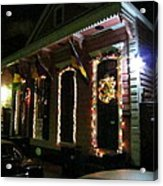 New Orleans - City At Night - 121219 Acrylic Print