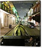 New Orleans - City At Night - 121222 Acrylic Print