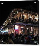 New Orleans - City At Night - 12123 Acrylic Print
