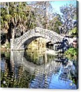 New Orleans City Park Acrylic Print