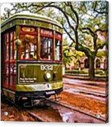 New Orleans Classique Oil Acrylic Print by Steve Harrington