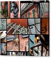 New Orleans Collage 2 Acrylic Print