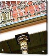 New Orleans Column Acrylic Print