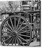 New Orleans Fire Department 1896 Bw Acrylic Print