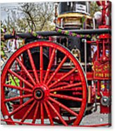 New Orleans Fire Department 1896 Acrylic Print