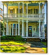 New Orleans Home - Paint Acrylic Print