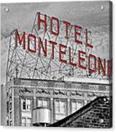 New Orleans - Hotel Monteleone Acrylic Print