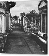 New Orleans Lafayette Cemetery Acrylic Print by Christine Till