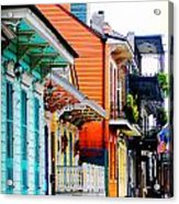New Orleans Living Acrylic Print