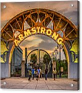 New Orleans Louis Armstrong Park  2 Acrylic Print