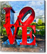 New Orleans Love 2 Acrylic Print