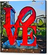 New Orleans Love 3 Acrylic Print