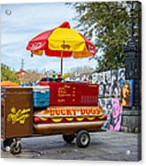 New Orleans - Lucky Dogs  Acrylic Print by Steve Harrington