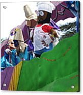 New Orleans - Mardi Gras Parades - 121210 Acrylic Print