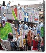 New Orleans - Mardi Gras Parades - 1212101 Acrylic Print by DC Photographer