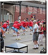 New Orleans - Mardi Gras Parades - 1212105 Acrylic Print