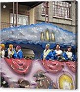 New Orleans - Mardi Gras Parades - 1212113 Acrylic Print