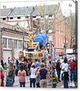 New Orleans - Mardi Gras Parades - 1212114 Acrylic Print