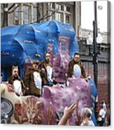 New Orleans - Mardi Gras Parades - 1212118 Acrylic Print