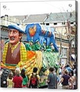 New Orleans - Mardi Gras Parades - 1212126 Acrylic Print
