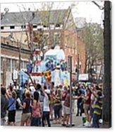 New Orleans - Mardi Gras Parades - 1212127 Acrylic Print