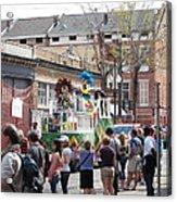 New Orleans - Mardi Gras Parades - 1212142 Acrylic Print
